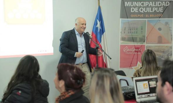 """Alcalde Viñambres y Aprobación del Plan Regulador de Quilpué: """"hay Que Iniciar El Proceso de Transformar El Belloto En Comuna"""""""