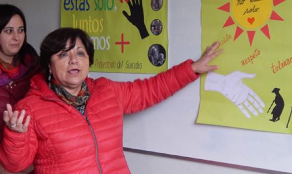 Quilpué se moviliza por la prevención del suicidio en el Día Mundial de la Salud Mental