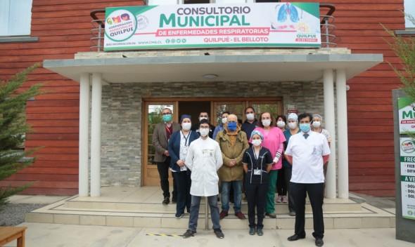 Habilitan Consultorio Municipal de Enfermedades Respiratorias en Quilpué