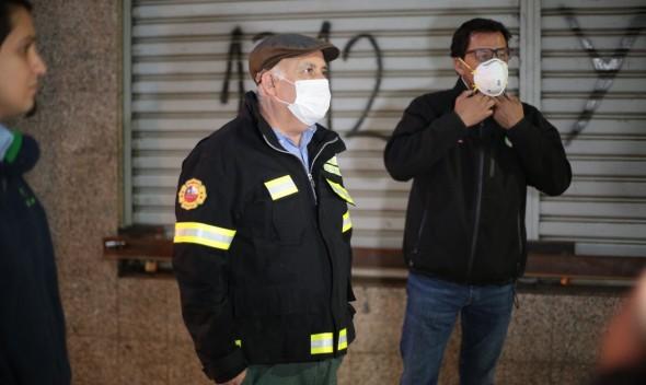 Alcalde Viñambres llama a la Armada a instalar aduanas sanitarias en Quilpué
