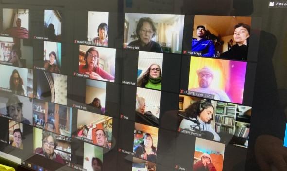 Nos hemos reunido con dirigentes Deportivos, de Centros de Adulto Mayor y Centro de Madres y Damas.