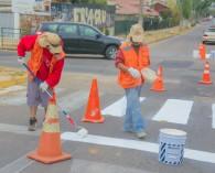 Municipio reforzará pintado de señalética vial