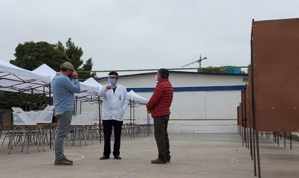 Municipio culminó trabajos de habilitación en locales de votación en Quilpué y Belloto