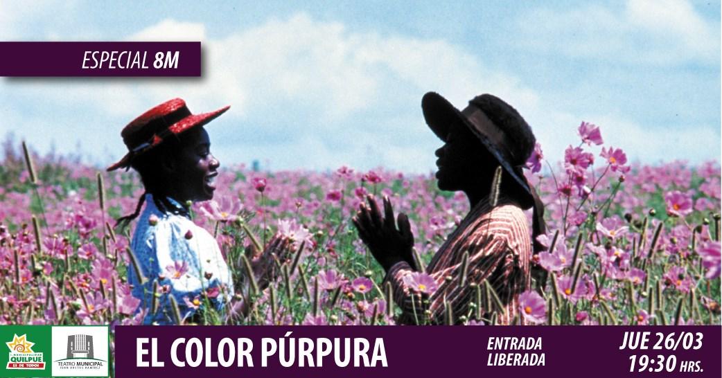 Cine 8M / El Color Purpura (Suspendido)