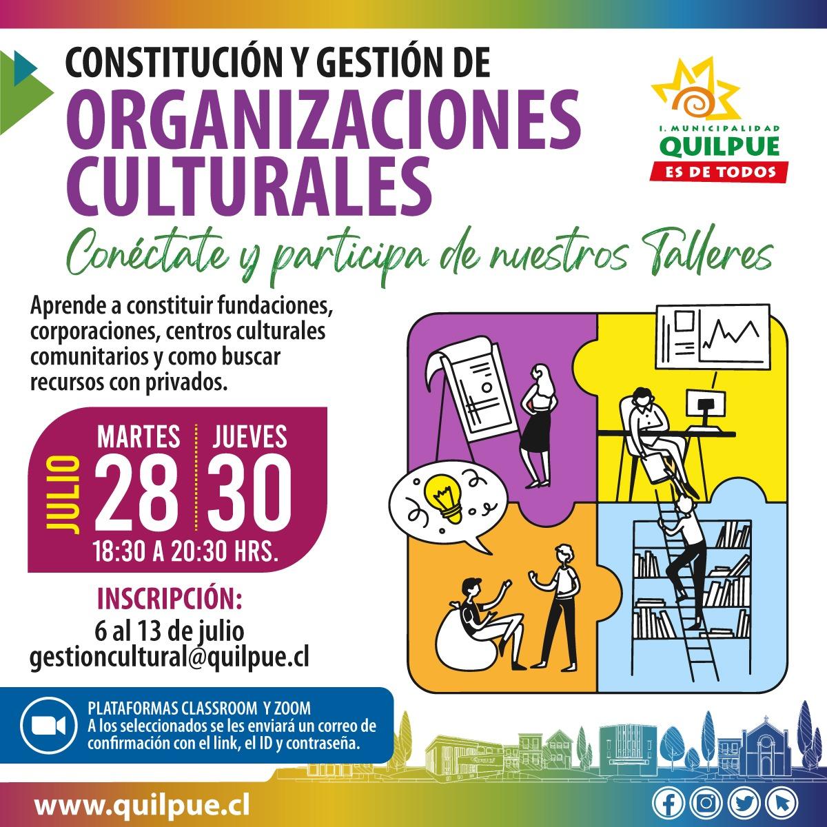 Organizaciones Culturales