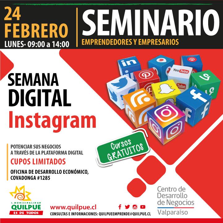 Semana Digital-Seminario Instagram