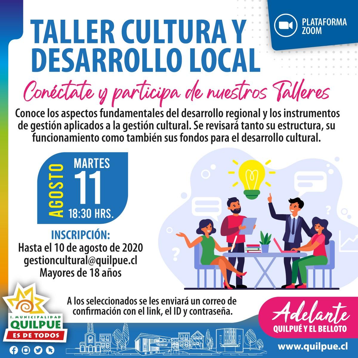 Taller Cultura y Desarrollo Local