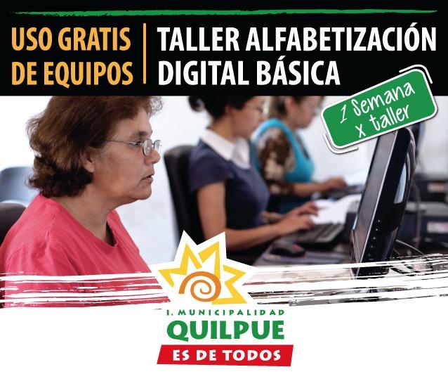 Taller  de Alfabetización Digital Básica