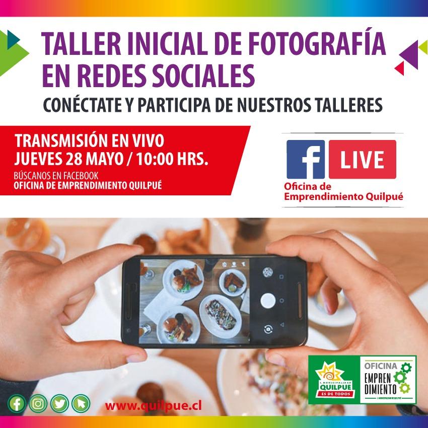 Taller Inicial de Fotografía en Redes Sociales