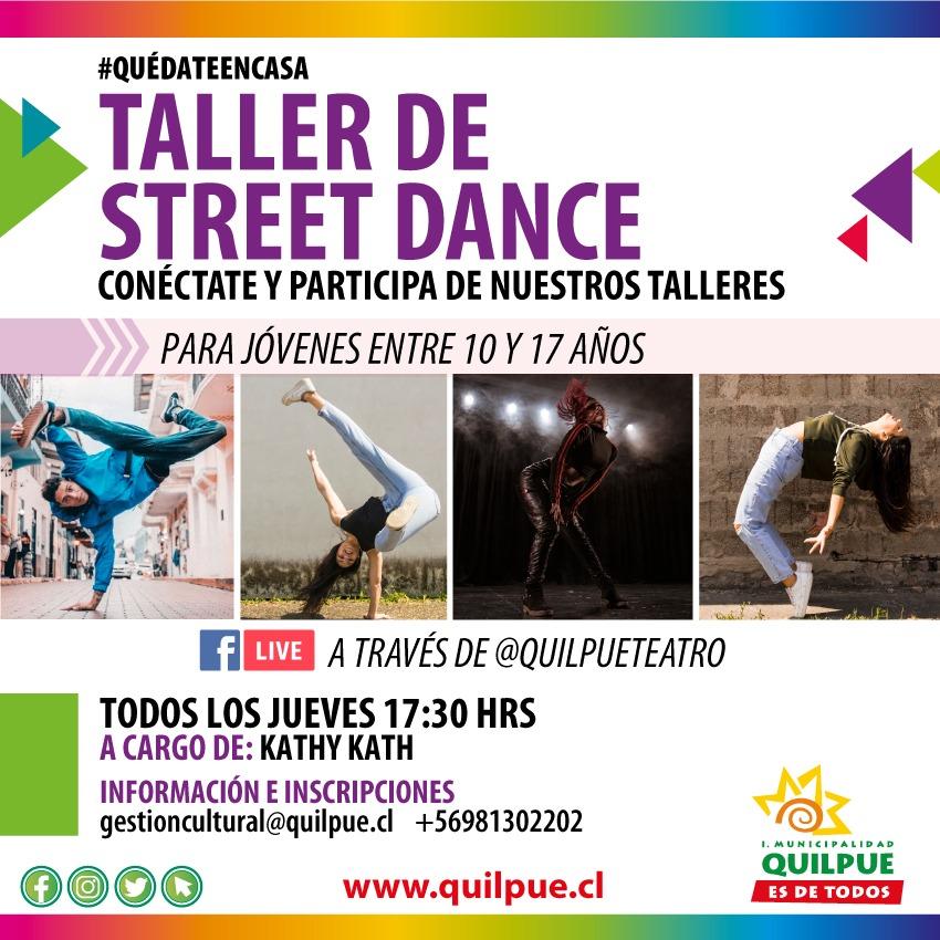 Taller Online de Street Dance