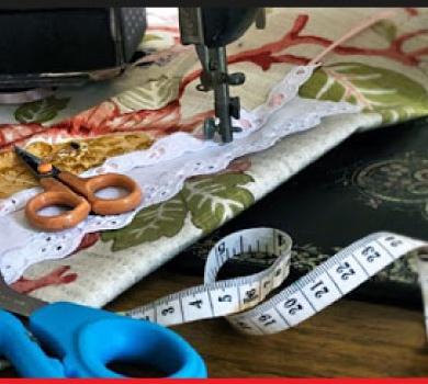 Curso: Confección Textil para el Hogar con Material Reciclado.