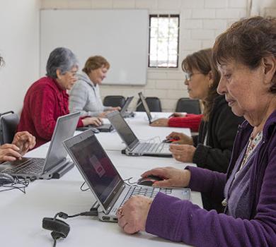 Talleres online para Adultos Mayores