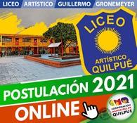 Postulación Liceo Artistico Guillermo Gronemeyer
